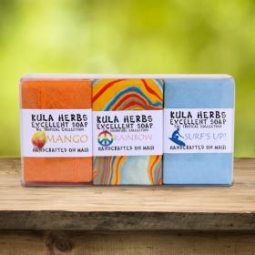 Rainbow 3pk Bath Bar Soap